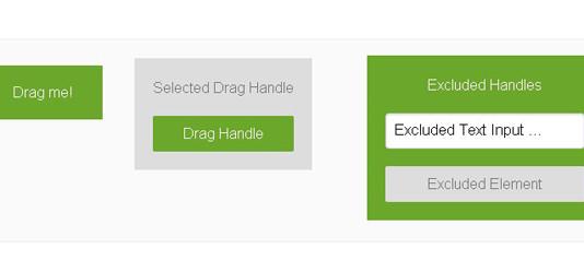 tinyDraggable – минималистский jQuery-модуль для адаптации объектов к перетаскиванию