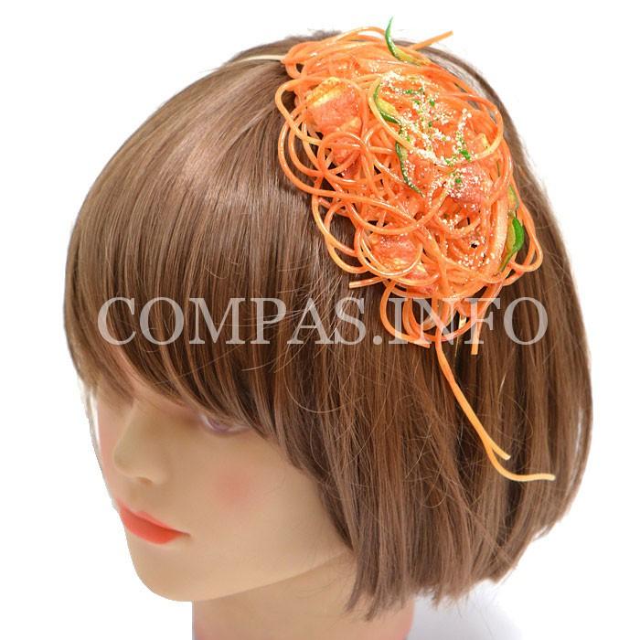 """Обруч для волос из """"спагетти"""""""