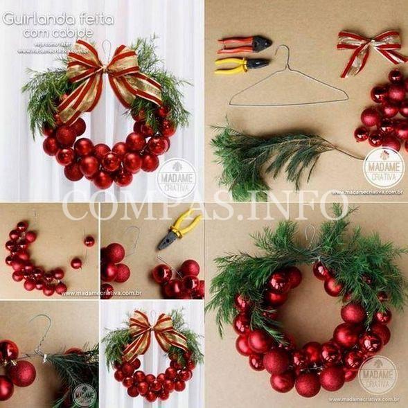 DIY-Christmas-Bauble-Wreath
