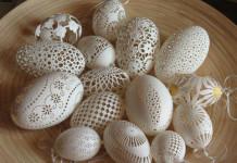 Френк Гром - ажурные пасхальные яйца