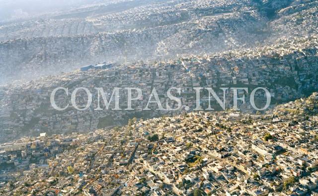 Мексика. Городской пейзаж, население – 20 миллионов жителей.