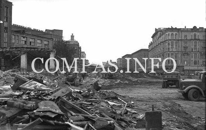 Москва на фото 60-х годов2