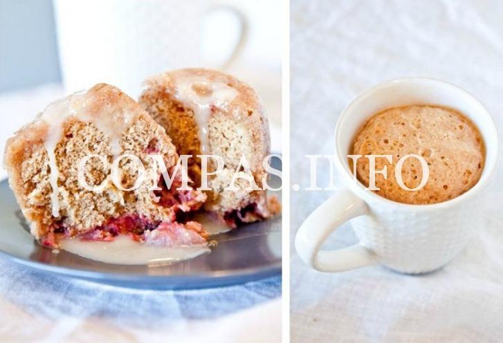 Простые десерты в чашке3
