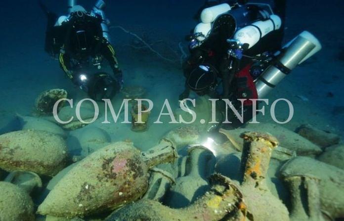 Древние артефакты обнаруженные на морских глубинах2