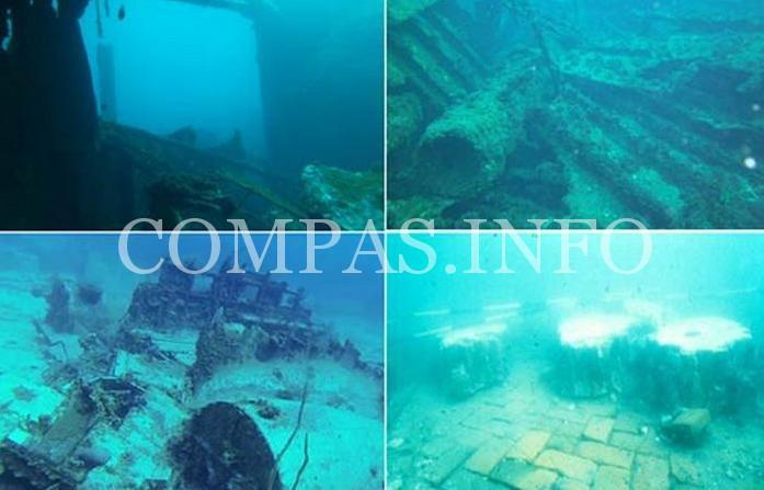 Древние артефакты обнаруженные на морских глубинах5