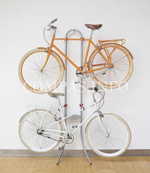 Идеи хранения велосипеда в квартире11