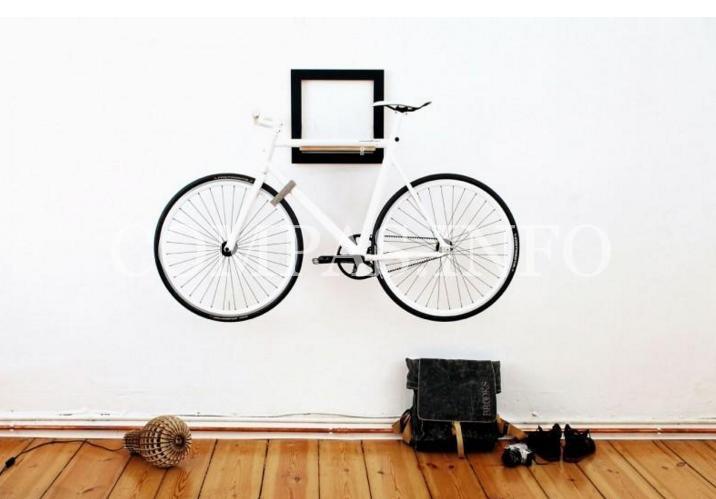 Идеи хранения велосипеда в квартире2