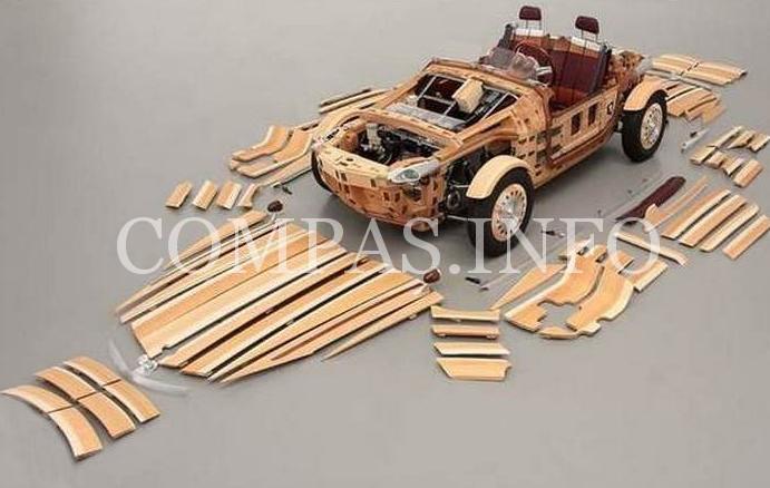 Деревянные авто4