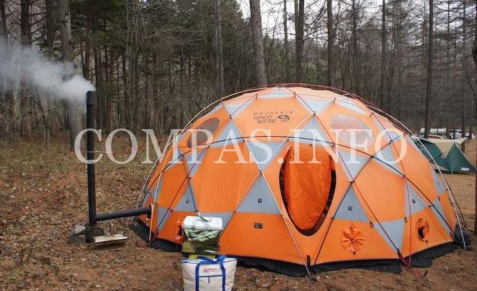 Туристическая палатка для отдыха с комфортом1