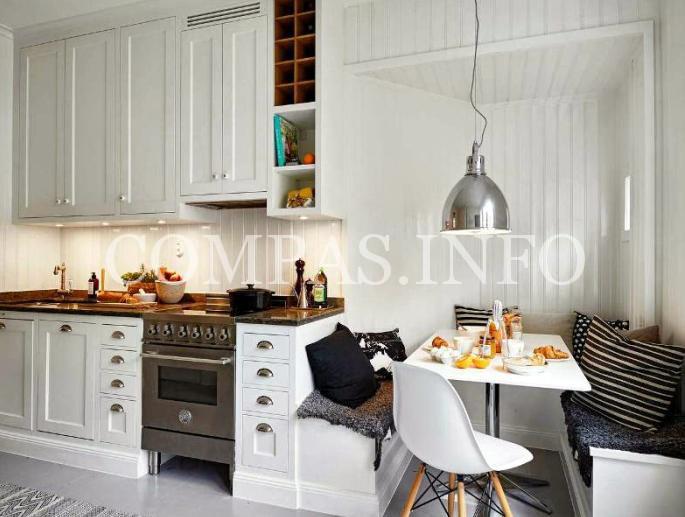 Обустройство маленькой кухни2