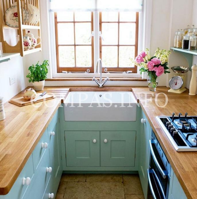 Обустройство маленькой кухни8